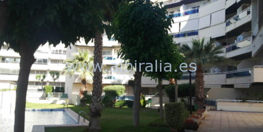 Apartment 50 m from the beach in Albir I A141