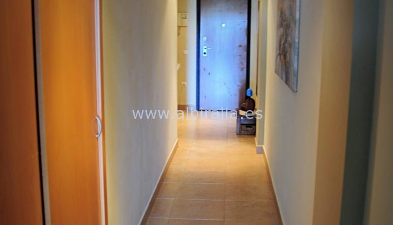 apartment with sea view in calpe moraine