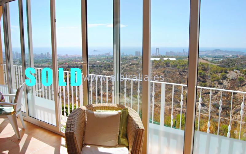 Apartamento entre Benidorm y La Nucia