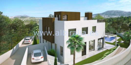Brand new villa in Moraira