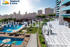 new apartments in Benidorm luxes  for sale til sales ny bygd bolig i costa blanca