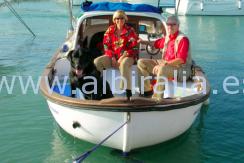 båt selges sammen med et hus i Albir #albiralia