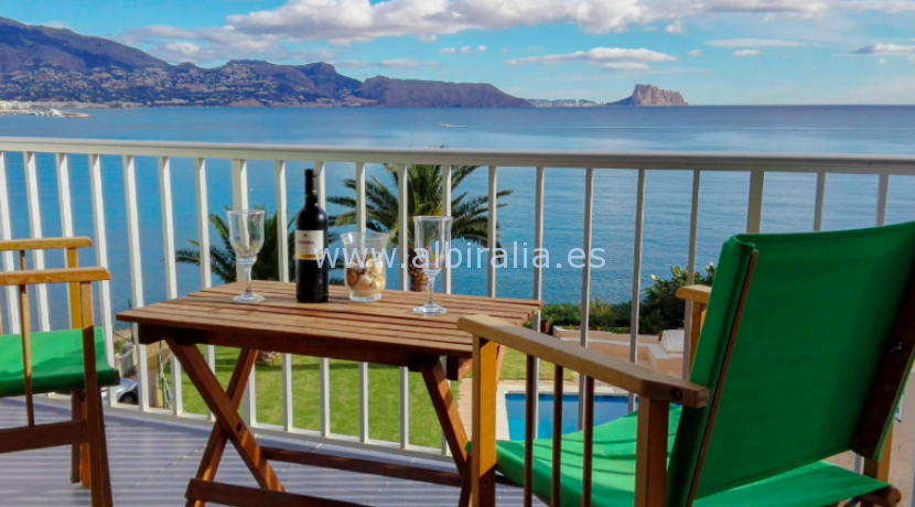 apartment with sea view for rent for sale in Albir