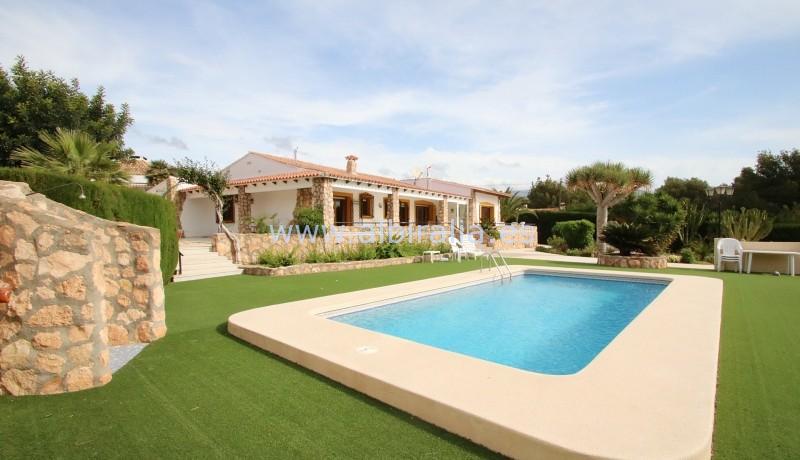villa til leie Sommer ferie Albir faro del Albir stranda kortsiktig leie utleie Alfaz tur holidays