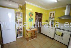 spanish style villa for rent in altea