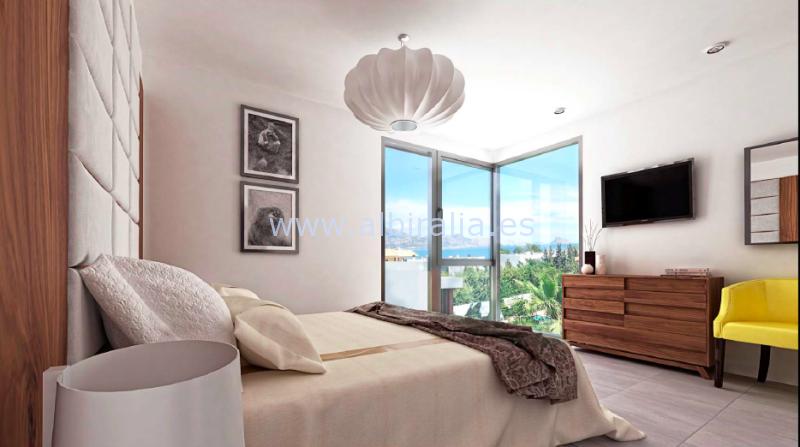 Villas de nueva construcción con vistas al mar a la venta en el Albir