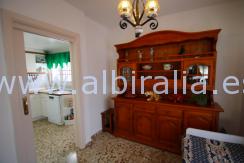 villa alt på et plan til salgs i Romeral Alfaz del Pi