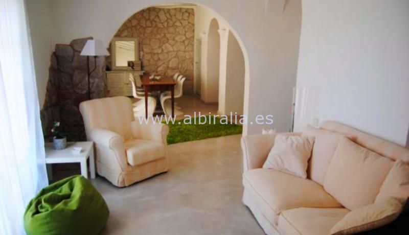 sjarmerende villa til leie og til salgs i sentrum av Alfaz havutsikt panorama utsikt tilbud #albiralia