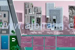 planos vivienda nueva a la venta en Albir Altea