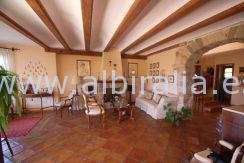 casa rustica a la venta en Alfaz del Pi Alicante Costa Blanca
