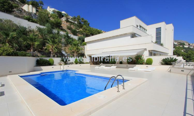 Luxury apartment with sea view near Altea Hills A151P