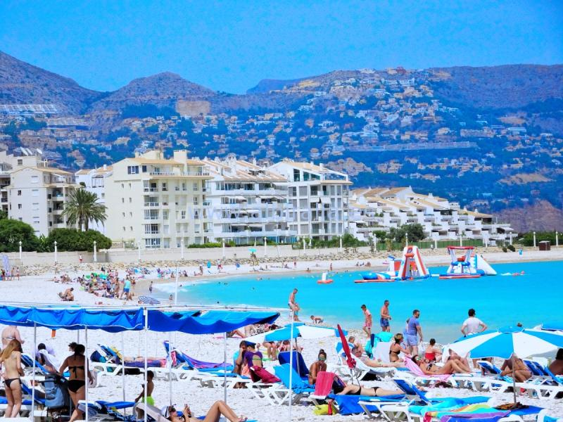 Apartment by the sea in Altea I A103