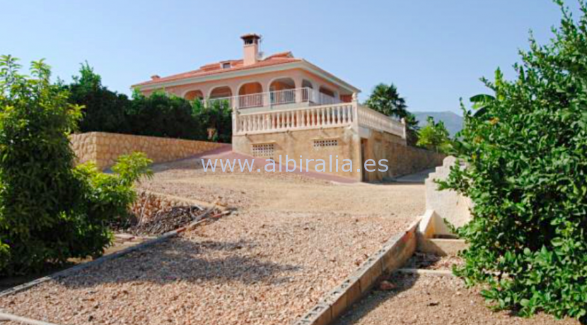 Espacios finca with big plot with frukt trees for sale