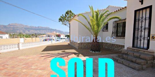 Villa for sale in urb. Foya Blanca (Alfaz del Pi) I V165