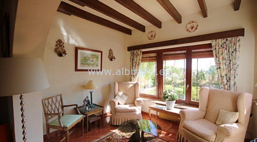 Enestående bolig med havutsikt til salgs i Alfaz