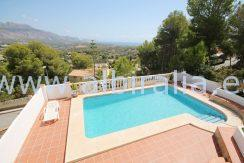 Villa for sale with sea view close to Altea urb El Tosal
