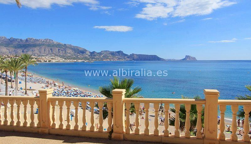 Investment project first line on the sea in Albir #Albiralia