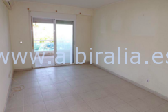 apartment with sea view for sale by the beach in Albir