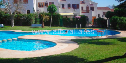 Semi detached house in la Nucia pueblo (city) I V186P