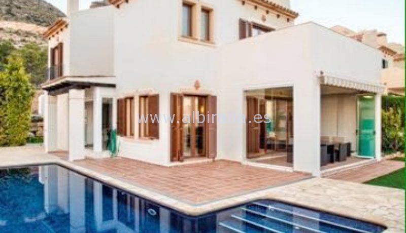 Villa with sea for sale in Sierra Cortina Finestrat Benidorm