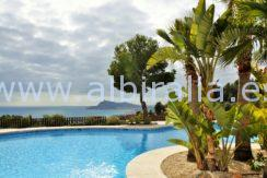 Beautiful apartment with sea view for sale in Panorama Hills in Altea Hills
