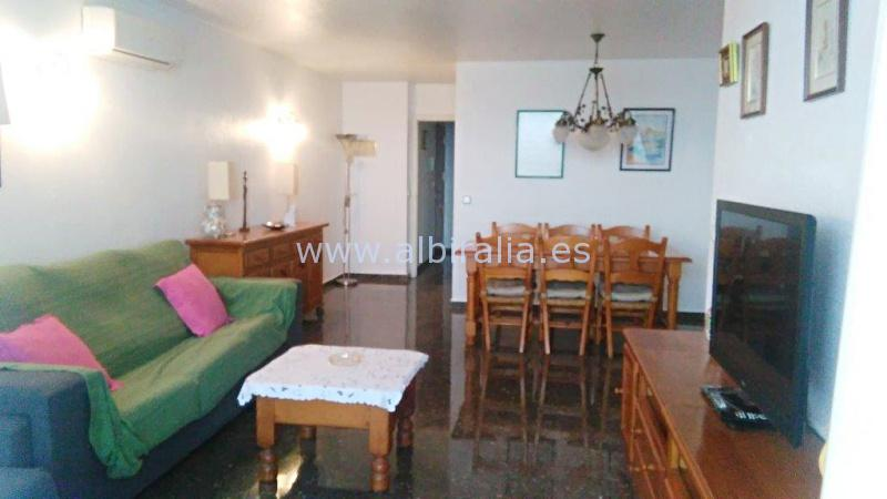 First line apartment for long term rent in Altea #albiralia