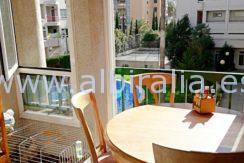 sørvendt terrasse i Albir