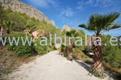 Finca with water and sentral heating for sale in Polop Tarbena Bolulla Benidorm