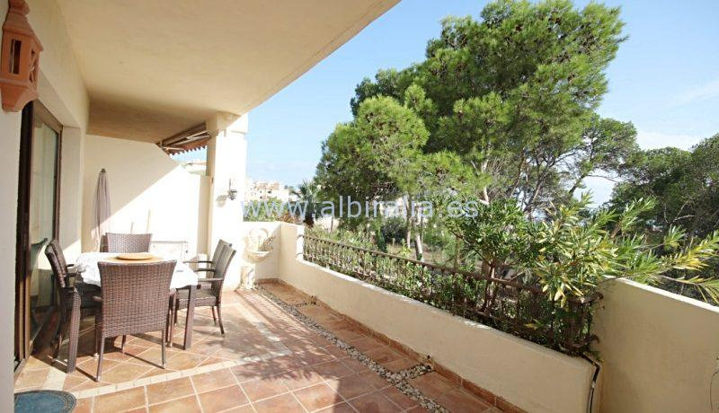 Apartment for  long term rent in the Villa Gadea block in Altea