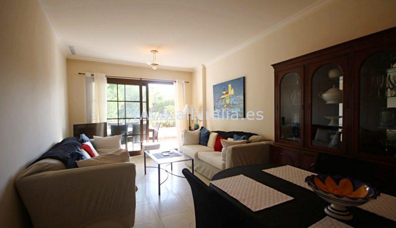 Beautiful Apartment for  long term rent in the Villa Gadea block in Altea close to Altea Hills