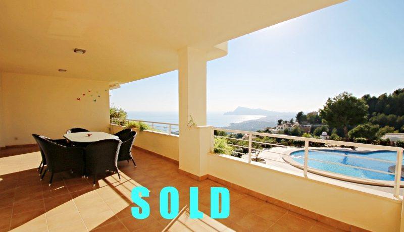 sold property in Altea