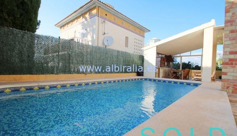 Sold house in Albir