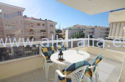 third floor apartment in albir