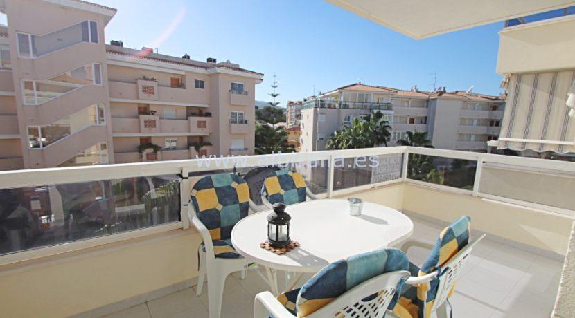 third floor apartment in albir