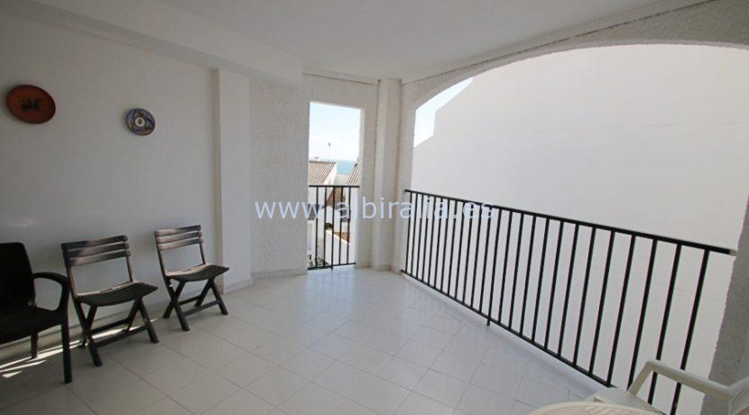 top floor apartment in altea