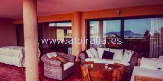 Beautiful apartment with sea view in Altea I A196