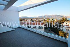 unfurnished house for long term rent albir