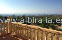house sea view in Moraira