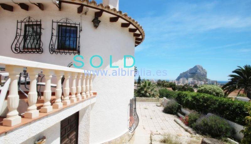 Sold villa in Calpe under 300000