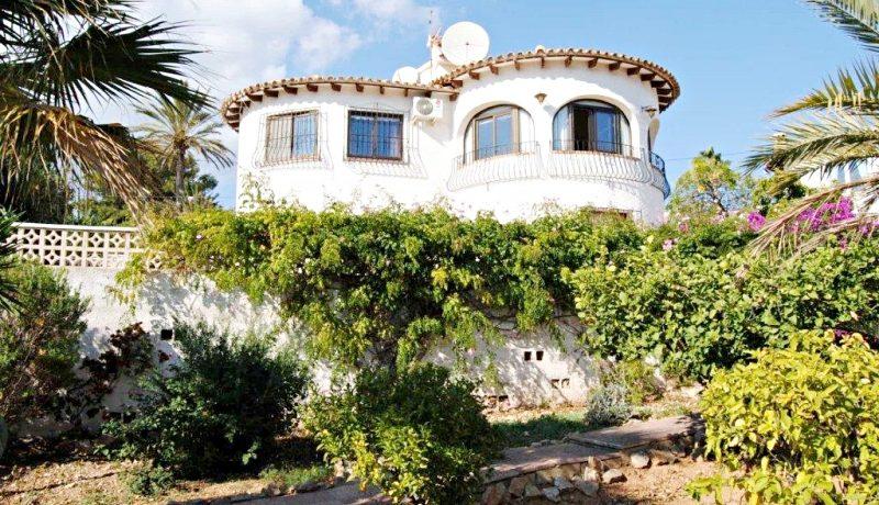 casa estilo mediterraneo calpe