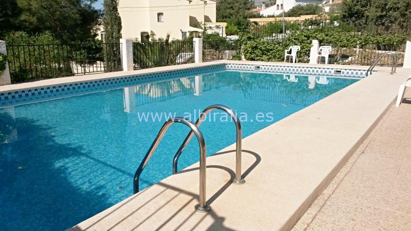 private garden for sale in Albir