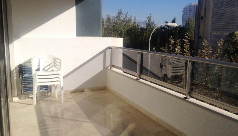leilighet sørvendt terrasse utleie