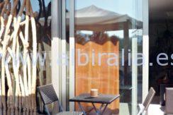 sørvendt terrasse til leie Albir