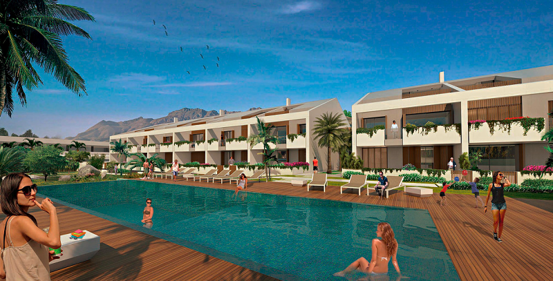 new complex for sale in albir