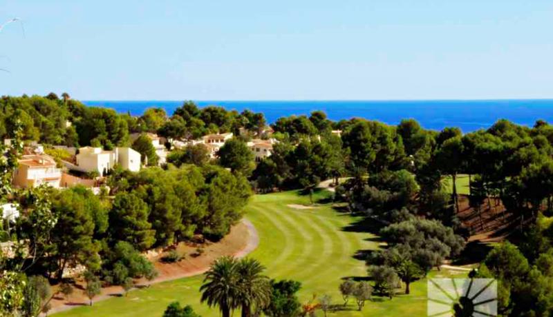 гольф и море дом у пляжа