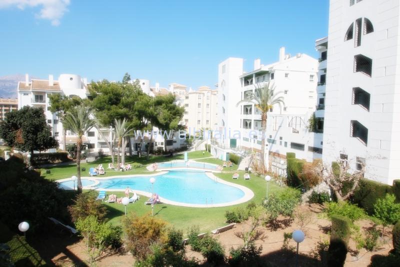 Apartamento con una gran terraza en alquiler I A208