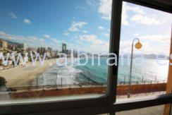 front line apartment for sale Poniente beach