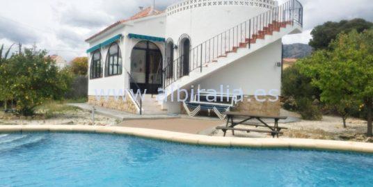 Cosy villa in la Nucia I V217P