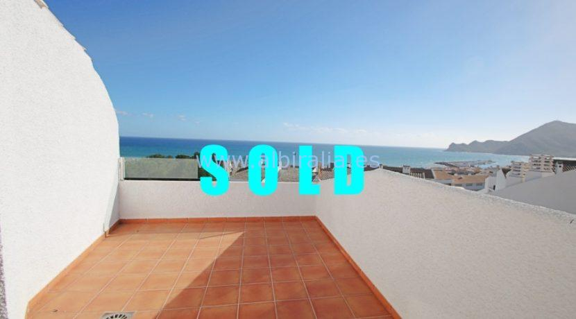 SOLD sea view apartment altea