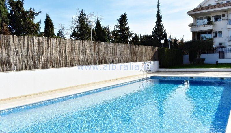 apartment swimming pool sea altea albir